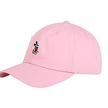 Disney Authentic Baseball Trucker Golf Sports Hats mickey Simple BALL CAPs Pink