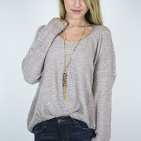 Hang Out High Low Sweater