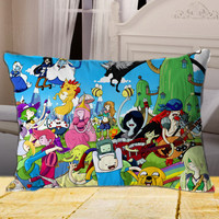 Any Time Is Adventure Time on Rectangle Pillow Cover