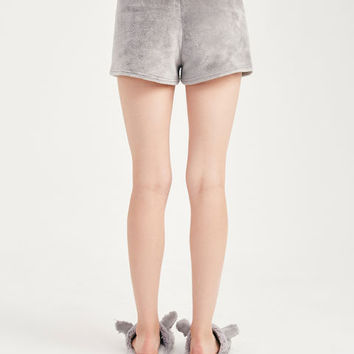 Plush Faux Fur Shorts | Wet Seal