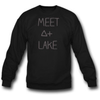 meet a lake sweatshirt crewneck