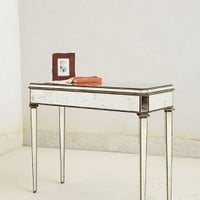 Mirrored Console by Anthropologie Clear One Size Wall Decor