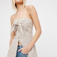 Free People Heartbreaker Stripe Tube Top