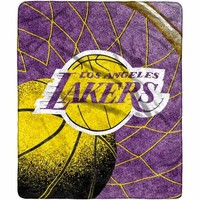 Los Angeles Lakers 50'' x 60'' Reflect Sherpa Blanket