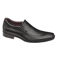 Johnston & Murphy Shaler Slip-On Dress Shoes - Black