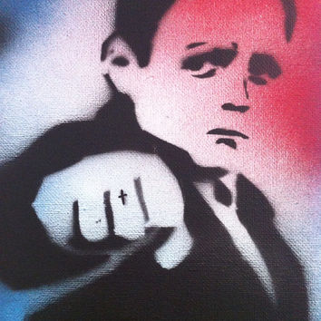 Shaun / This is England Spraypaint Stencil Art