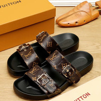 shosouvenir :  Louis Vuitton LV Men's slippers