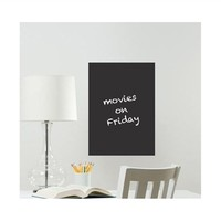 Black Message Board - Peel N Stick Dorm Supplies College Organizer Dorm Room Posters Dorm Decor Dry Erase Boards