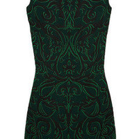 Alexander McQueen | Patterned knitted dress | NET-A-PORTER.COM