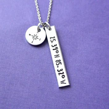 Necklace with Compass Rose
