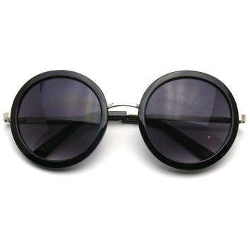 New Round Circle Fashion Designer Celebrity Womans Sunglasses