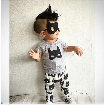 2018 summer baby boy clothing short sleeve baby romper newborn clothes Batman pattern jumpsuit newborn clothes baby girl clothes