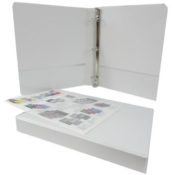 "1"" White Triple-View Binder - CASE OF 18"