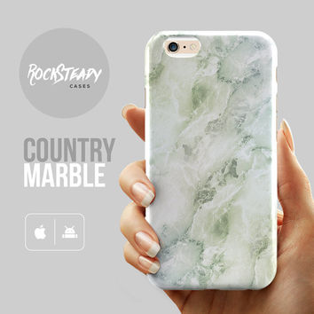 Subtle Green Marble iPhone 6s case, iPhone 6s Plus case, iPhone 6 case, iPhone 6 Plus case, iPhone 5s Case, galaxy S6 case, iPhone 5C case,