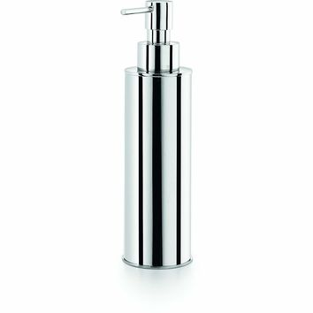 LB Saon Countertop Lotion Soap Dispenser Pump 250ml/8.5oz Kitchen Bath Chrome