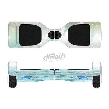 The Paradise Vintage Waves Full-Body Skin Set for the Smart Drifting SuperCharged iiRov HoverBoard