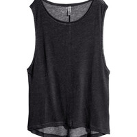 Sleeveless top - from H&M