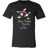 Music Teacher Musical Teachers Funny Gift T Shirt