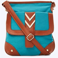 Chevron Hardware Crossbody | rue21