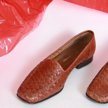 Woven Loafers Size 5