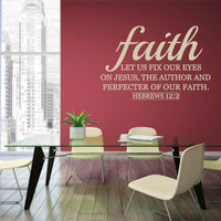 Christian Decals. Faith - CODE 073