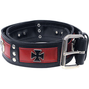 Belt Men's  Extreme Belt Black Rockabilia