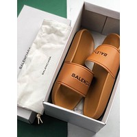 Balenciaga Summer beach sandals and slippers