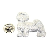Shih Tzu Pin ~ Antiqued Pewter ~ Lapel Pin