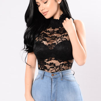 All The Grace Bodysuit - Black