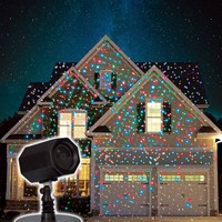 Christmas Animated Stars Laser Light with Timer and Memory, Red/Blue/Green - Walmart.com
