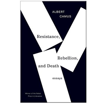 Albert Camus Resistance, Rebellion and Death Paperback Book