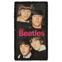 Beatles Men's Photo Photo Patch Black