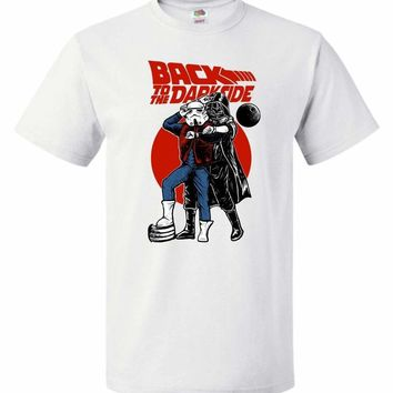 Back To The Darkside Star Wars Back To The Future Mashup Youth T-Shirt