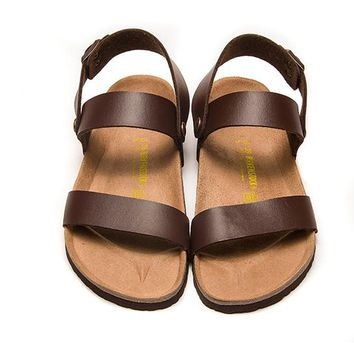 Birkenstock Patent Leather sandals for Women & Men flip flops shoes