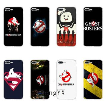 funny Ghostbusters Slim silicone TPU Soft phone case For LG G2 G3 mini spirit G4 G5 G6 K7 K8 K10 2017 V10 V20 V30