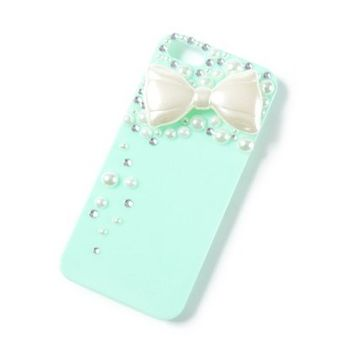 Bow, Pearls and Crystals iPhone 5 Cover   | Claire's
