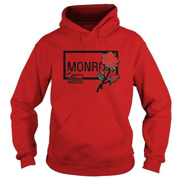 Monroe and rose love worship Hoodie