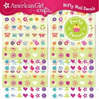 American Girl Crafts Nail Sticker Craft Favors