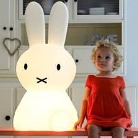 MIFFY Miffy Lamp Large is 80 cm high