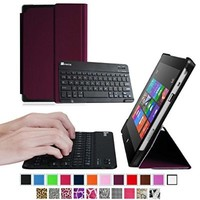 Fintie Microsoft Surface RT / Surface 2 Keyboard Case - Ultra Slim Stand Cover with Magnetically Detachable Wireless Bluetooth Keyboard for Surface RT / Surface 2 10.6-Inch Tablet (Does Not Fit Windows 8 Pro Version) - Black
