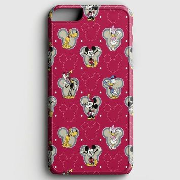Swag Hipster Mickey iPhone 8 Case