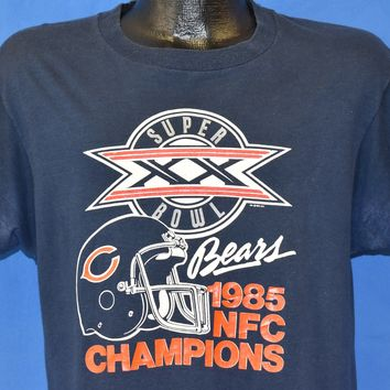 17ea0ca5bdf 80s Chicago Cubs 1986 NFC Champs t-shirt Large