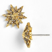 Women's Louise et Cie 'Micro Pave' Star Stud Earrings