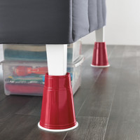 8-Inch Red Solo Cup Bed Risers (Set of 4)
