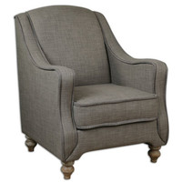 Uttermost Cauley Gray Armchair - 23191