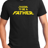 New Father Shirt, star , force, baby announcement, new dad, dad to be, fathers day, gift for dad, daddy,