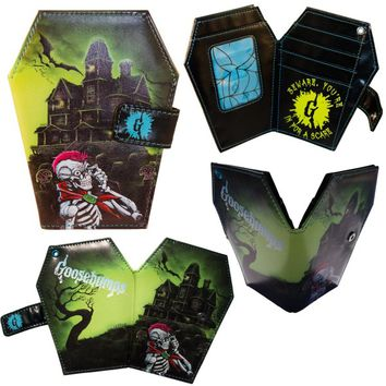 Kreepsville 666 Goosebumps Coffin Wallet Haunted House