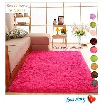 Rugs for Home Living Rooms Bedroom Fashion Anti-skid Carpet Mats Home Supplies Floor Mat Soft Comfortable Home Supply