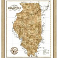Map of Illinois, Maps