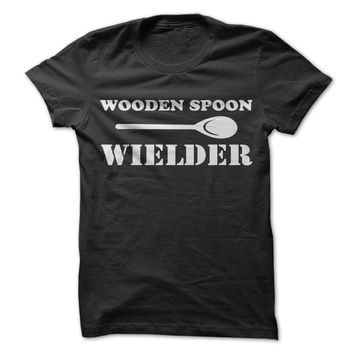 Wooden Spoon Wielder - On Sale